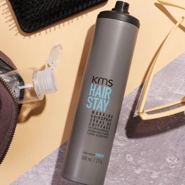 GÔM DẺO KMS HAIRSTAY WORKING HAIRSPRAY 250G