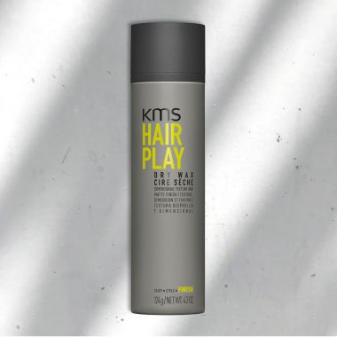 SÁP KHÔ KMS HAIRPLAY DRY WAX 124G