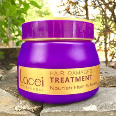 Hấp dầu phục hồi Lacei Hair Damaged Treatment 500ml
