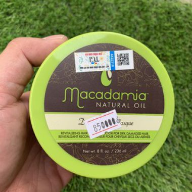Kem Hấp Tóc Macadamia Deep Repair Masque 236ml