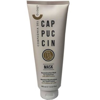 HẤP DẦU DEL COLORE CAPPUCCINO MASK 400ML